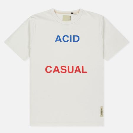 Мужская футболка Dupe Galag Acid Casual Print/White