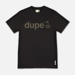 Мужская футболка Dupe Galag Ben Logo Print/Black Melange фото- 0