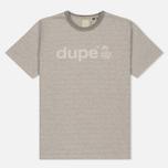 Мужская футболка Dupe Galag Ben Logo Print/Grey Melange B фото- 0