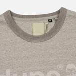 Мужская футболка Dupe Galag Ben Logo Print/Grey Melange B фото- 1