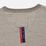 Мужская футболка Dupe Galag Ben Logo Print/Grey Melange B фото- 2