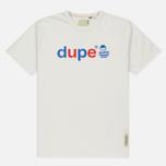 Мужская футболка Dupe Galag Ben Logo Print/White фото- 0