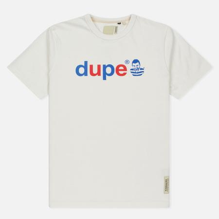 Мужская футболка Dupe Galag Ben Logo Print/White