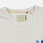 Мужская футболка Dupe Galag Ben Logo Print/White фото- 1