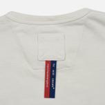 Мужская футболка Dupe Galag Ben Logo Print/White фото- 3