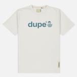 Мужская футболка Dupe Galag Ben Logo Print/White B фото- 0