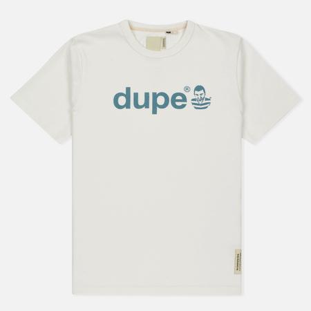 Мужская футболка Dupe Galag Ben Logo Print/White B
