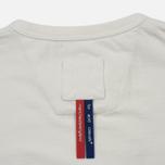 Мужская футболка Dupe Galag Ben Logo Print/White B фото- 3