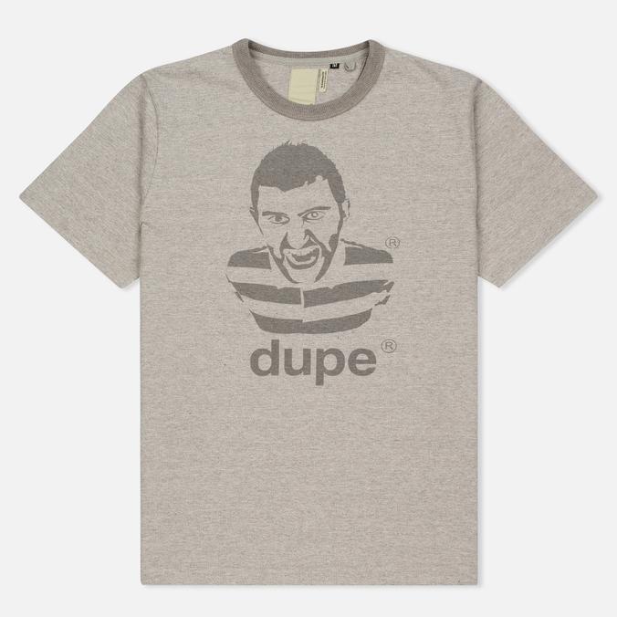 Мужская футболка Dupe Galag Big Ben Print/Grey Melange