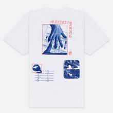 Мужская футболка Edwin Altered Fantasy Garment Wash White фото- 3