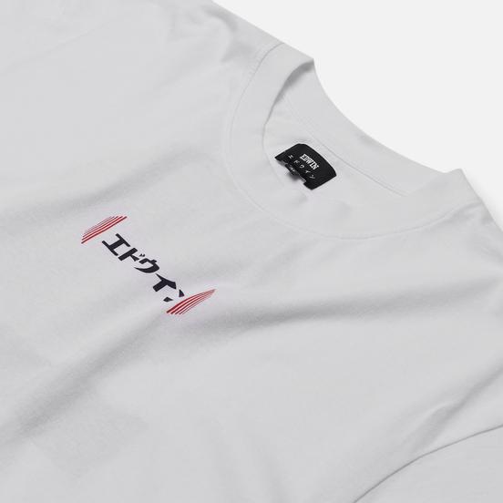 Мужская футболка Edwin Aurora White Garment Washed