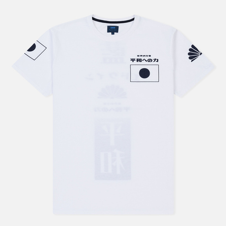 Мужская футболка Edwin Dream White Garment Washed