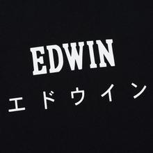 Мужская футболка Edwin Edwin Japan Black Garment Washed фото- 2