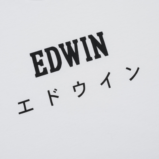 Мужская футболка Edwin Edwin Japan White
