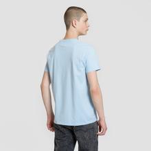 Мужская футболка Edwin Edwin Logo Chest Coole Blue Garment Washed фото- 3