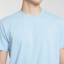 Мужская футболка Edwin Edwin Logo Chest Coole Blue Garment Washed фото- 2