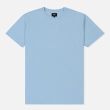 Мужская футболка Edwin Edwin Logo Chest Coole Blue Garment Washed фото- 0