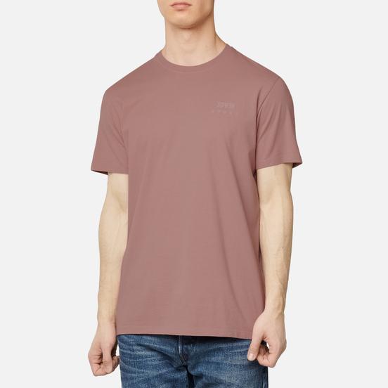 Мужская футболка Edwin Edwin Logo Chest Woodrose Garment Washed