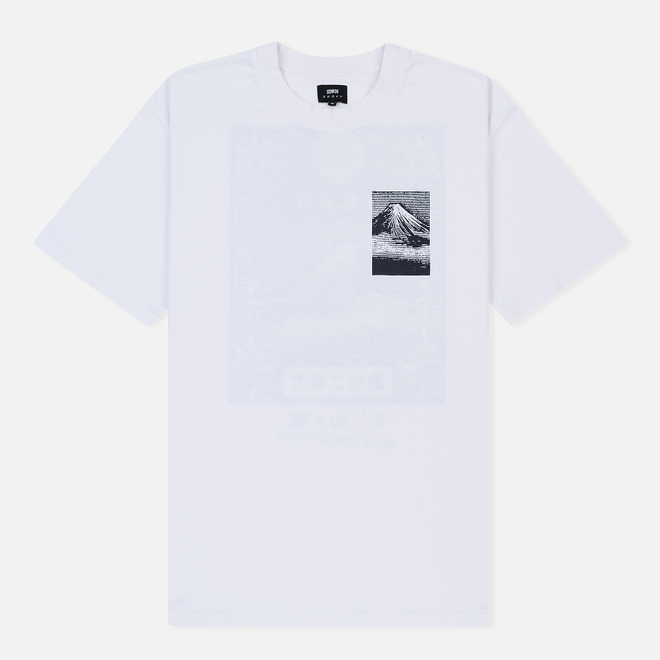 Мужская футболка Edwin From Mount Fuji White