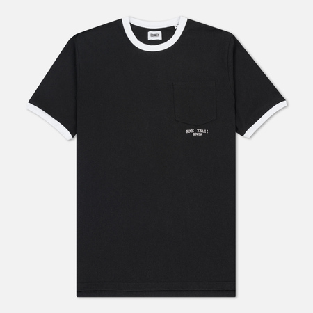 Мужская футболка Edwin Fuck Yeah Embroidered Black