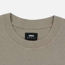 Мужская футболка Edwin Hazy Dreams III Garment Dyed Faded Out Moon Rock фото- 1