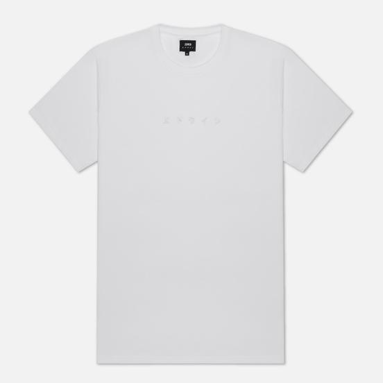 Мужская футболка Edwin Katakana Embroidery White