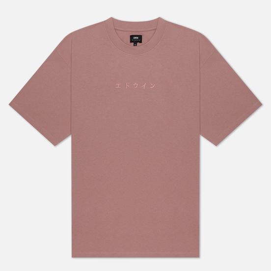 Мужская футболка Edwin Katakana Embroidery Woodrose