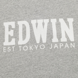 Edwin Logo Type 2 Men's T-shirt Grey Marl photo- 2