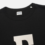 Мужская футболка Edwin Logo Type 3 Black фото- 1