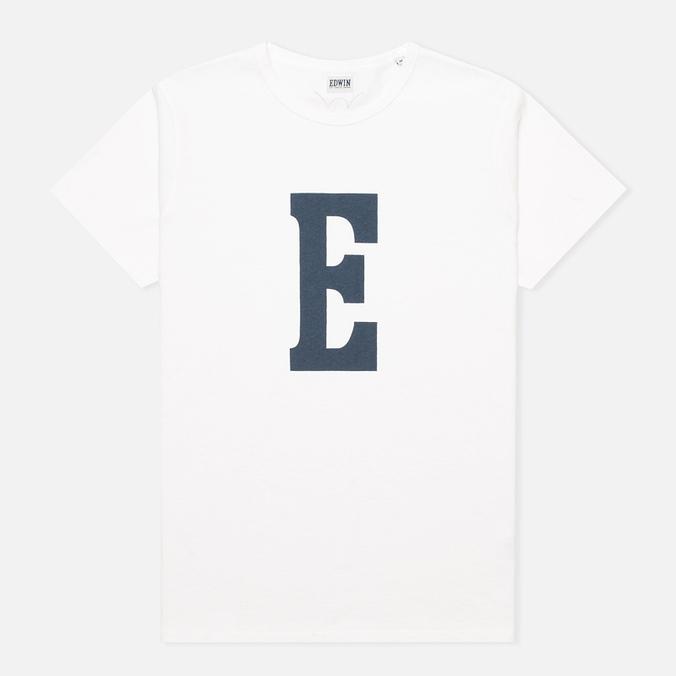 Мужская футболка Edwin Logo Type 3 White