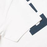 Мужская футболка Edwin Logo Type 3 White фото- 3