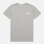 Edwin Logo Type 4 Men's T-shirt Grey Marl photo- 0