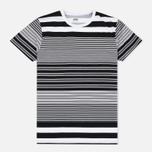 Мужская футболка Edwin Mixed Stripes Jersey Black фото- 0