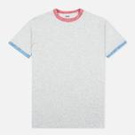 Edwin National Men's T-shirt Light Grey Marl photo- 0