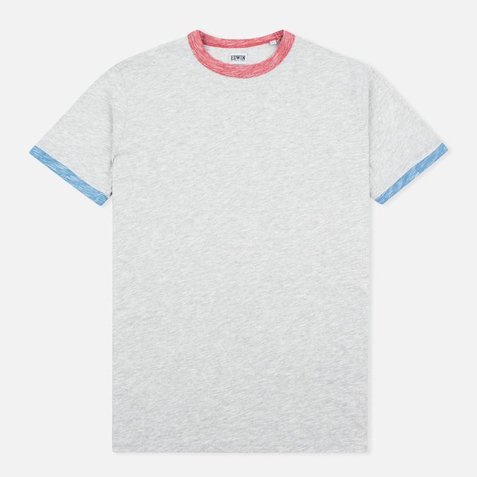 Мужская футболка Edwin National Light Grey Marl