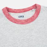 Edwin National Men's T-shirt Light Grey Marl photo- 1