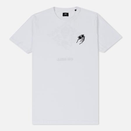 Мужская футболка Edwin Oh Hell White Garment Washed