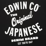 Мужская футболка Edwin Original Black фото- 2
