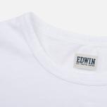 Edwin Pin Polka Men's T-shirt White photo- 3
