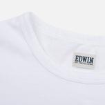 Мужская футболка Edwin Pin Polka White фото- 3
