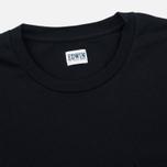 Edwin Pocket Jersey Men's T-shirt Black photo- 1