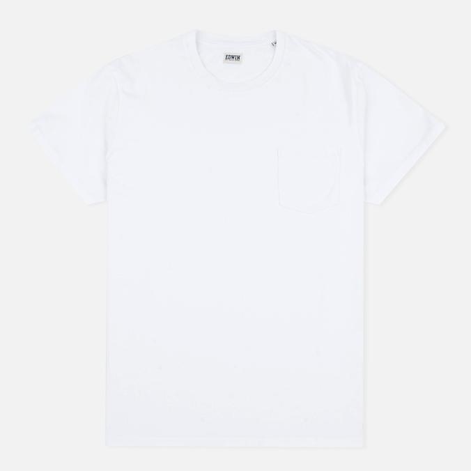 Мужская футболка Edwin Pocket Jersey White
