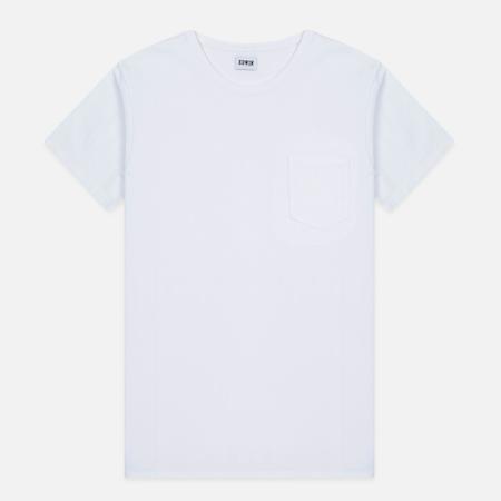 Мужская футболка Edwin Pocket White