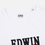 Мужская футболка Edwin Red Dot 1 White фото- 1