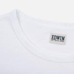 Мужская футболка Edwin Red Dot 1 White фото- 3