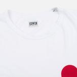 Мужская футболка Edwin Red Dot 2 White фото- 1