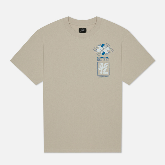 Мужская футболка Edwin Self-Examination Silver Cloud Garment Wash