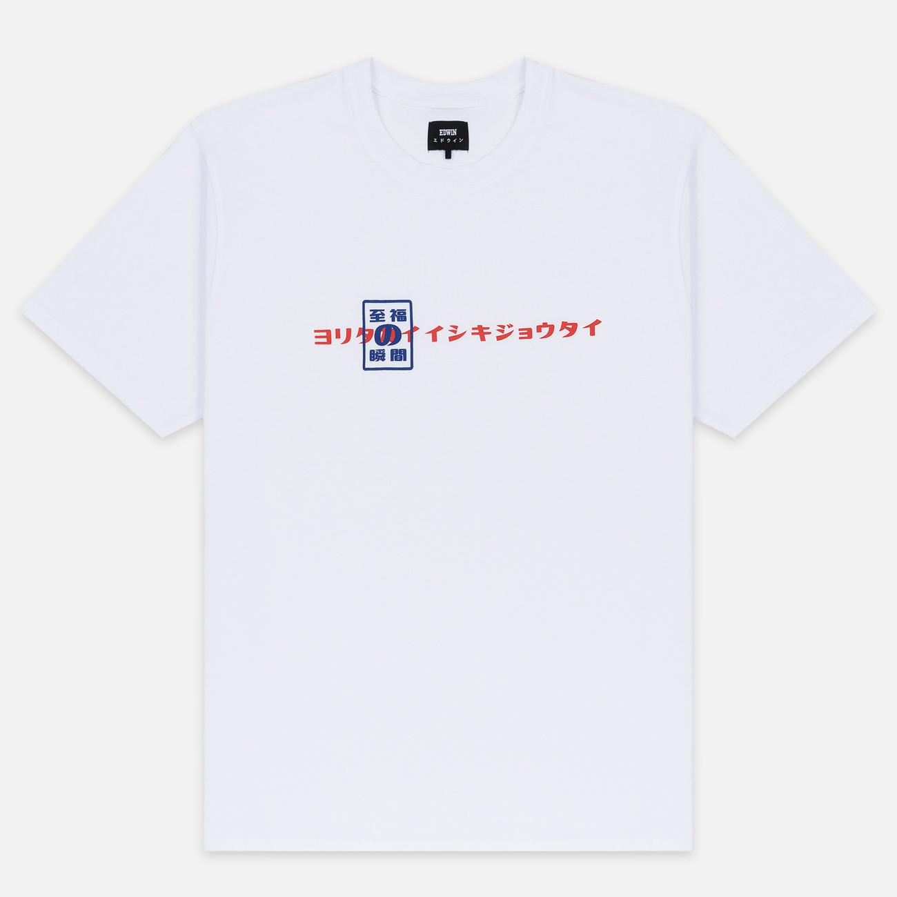 Мужская футболка Edwin Shuin Garment Wash White