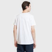 Мужская футболка Edwin Signboard White Garment Washed фото- 2