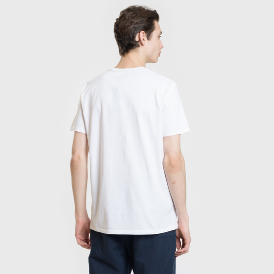 Мужская футболка Edwin Signboard White Garment Washed